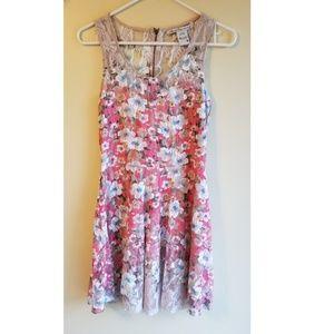 American Rag Cie Summer Floral Dress Size M